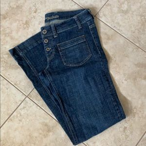 American Eagle button fly bootcut jean